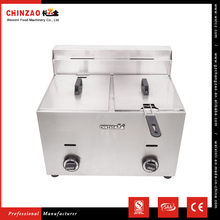 CHINZAO Newly Sell Kicthen Food Processing Machine Industrial Chips Gas Deep Fryer