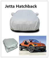 Plastic Film Auto Parts Retractable Car Cover Brand cooperation experiences car cover For Volkswagen Jatta Hatchback