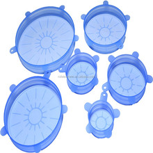 Reusable silicone cover Bowl Suction Silicone Food Cover