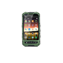 shenzhen factory price 4.0 inch capacitive touch screen IP68 3G rugged smartphone with NFC