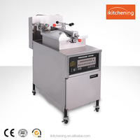 with oil filtration system commercial chicken pressure fryer/kfc frying chicken for sale/fried turkey machine