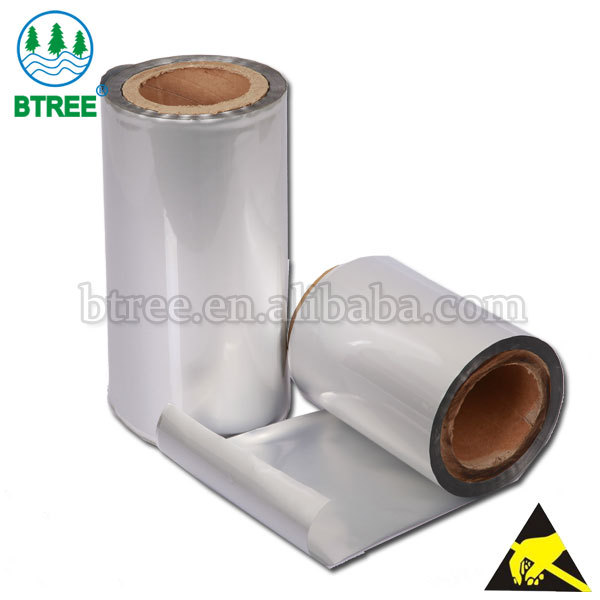 Btree ESD Moisture Barrier Electronic Roll For Making Aluminum Foil Bag