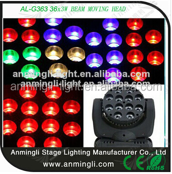36*3W Led moving head for dance hall