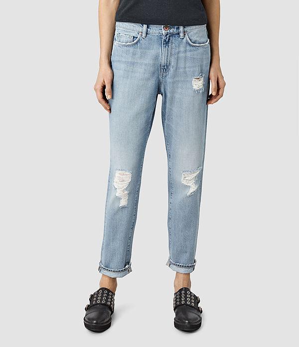 2016 Fashion Loose Fit Burnished Washed Women Jeans Hsp8011 - Buy Loose Fit Designer JeansJeans ...