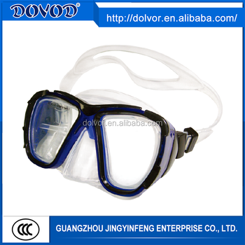 silicone skirt diving mask