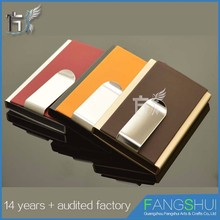 Trade Assurance Factory price keychain mini card holder