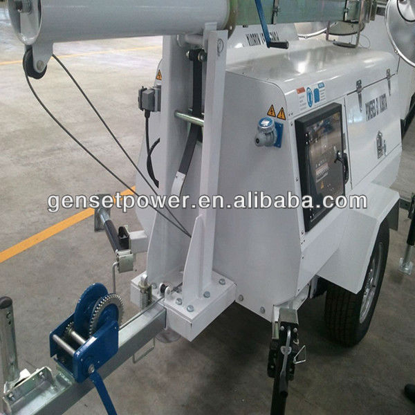 Good Quality Japan Kubota 10kw Mobile Light Tower Price