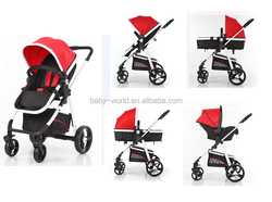 EN1888 Certificate Most Popular Aluminum Frame good baby Stroller with carseat