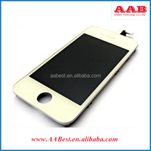 for iPhone 4s lcd digitizer no dead pixel with braket/frame for iphone lcds with ear mesh