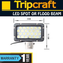 Popular product! 8'' 24W LED DRIVING WORK LIGHT 12V 24V waterproof Led Driving Light Bar 4wd auto parts,heavy duty vehicles