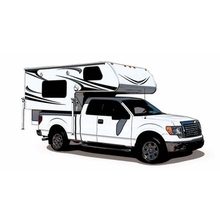 Overland Superior Finish Quality Hard Floor RV Camper Trailers for Sale