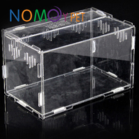 Nomo concise design custom acrylic display case for hamster reptile