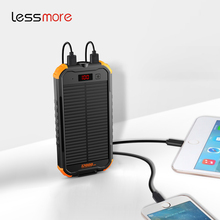 new electronic gadgets Dual USB Portable Externa Solar Charger 12000mah hiking solar power bank CE,FCC,ROHS private model