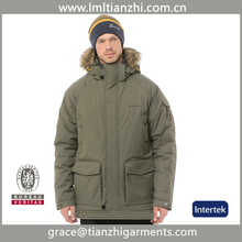 High quality cheap wholesale polyester team sports down jackets for men