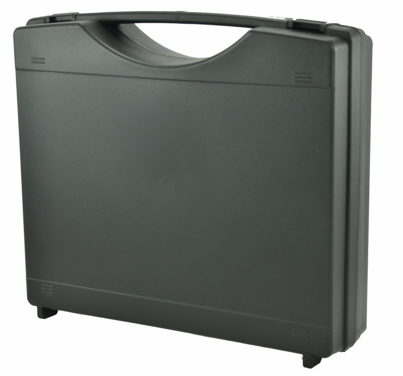 Super hard plastic tool box with customized cutting foam