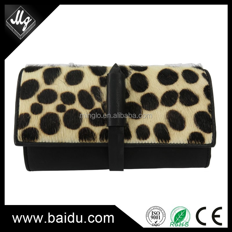 famous brand handmade ladies genuine leather women wallet