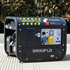BISON CHINA Swiss Kraft 6.5kw Fuel Save 380V Three Phase Gasoline Generator swiss kraft generators sk6500w