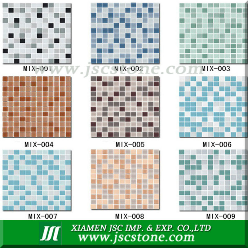 glass mosaic for decoration