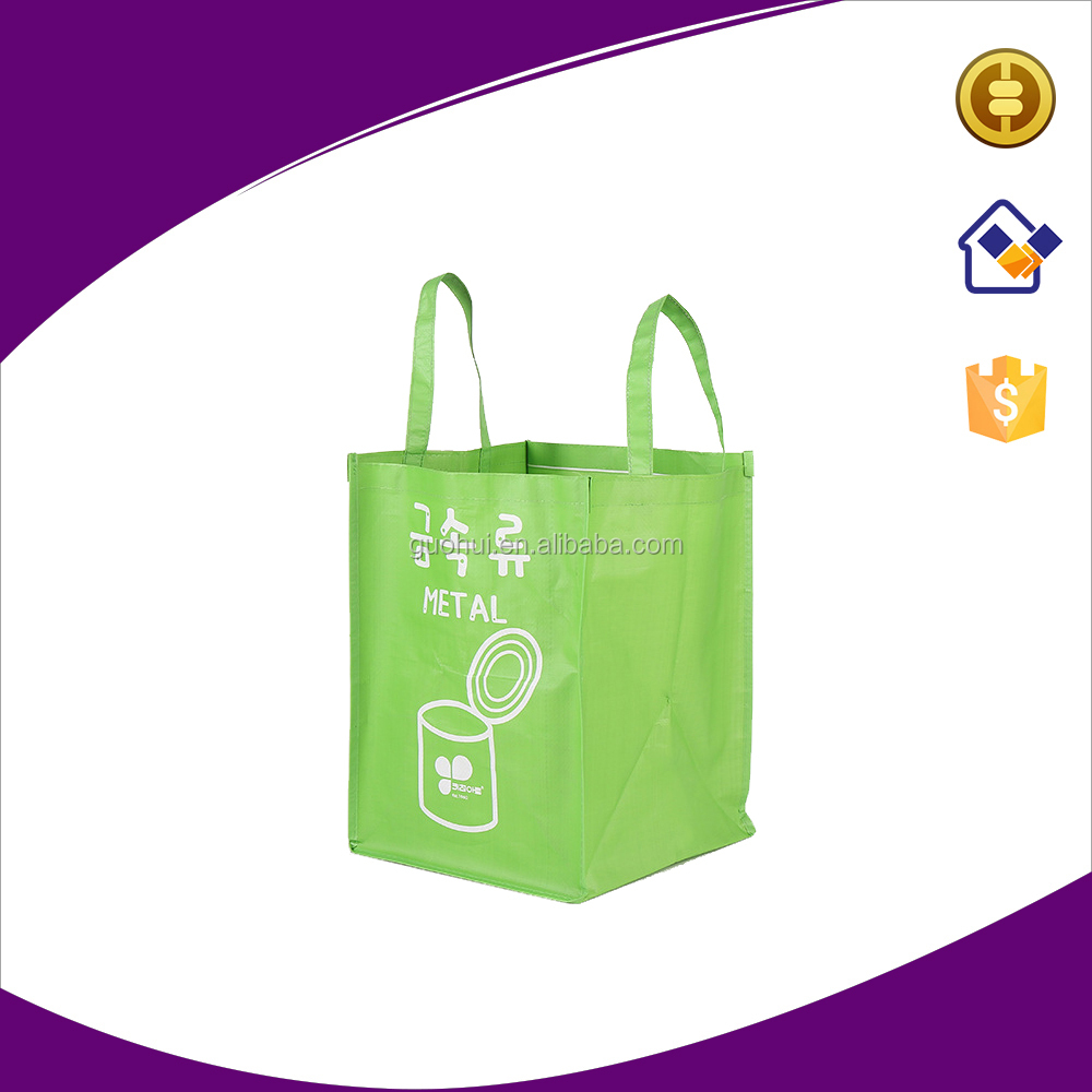 High class pp woven garbage bag,recycle PP woven tote bag