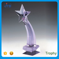 wholesale star shape crystal awards and trophies china crystal trophies award