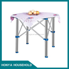 easy to handle convenient plastic folding table children