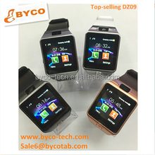 smart watches with camera and sim touch screen watch for kids hand watch mobile dz09