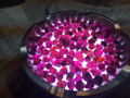 Top Quality Natural Purple Garnet Rough 5-6MM