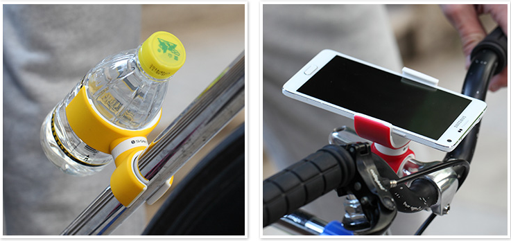 360 degree retatable car bike holder for smartphone