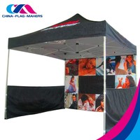 custom free design outdoor trade show advertise print pop up canopy tent