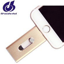 New year promotion OTG Flash Drive Disk Style external flash for iphone usb flash drive