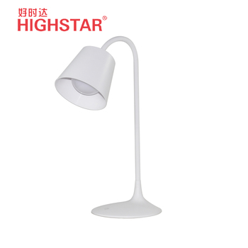 Nordic style table lamp sensor touch hotel reading table lamp