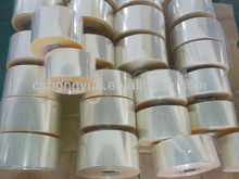 Normal clear plastic PVC heat shrink packaging film/ PVC package bags