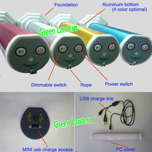 new patent 180 degree 2w rechargeable led emergency light