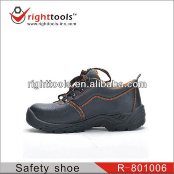 High Quality EN 20345 dark blue Safety shoes with genuine leather