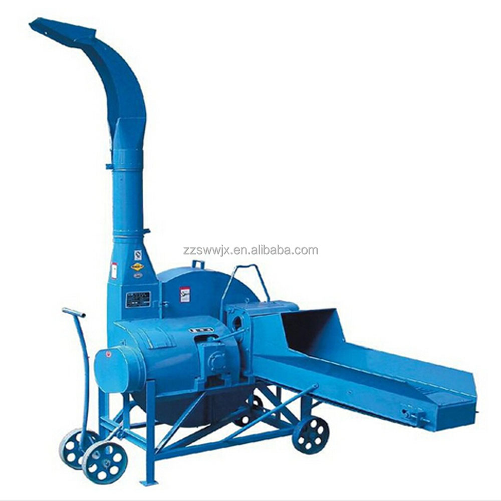 Silage chaff cutter machine