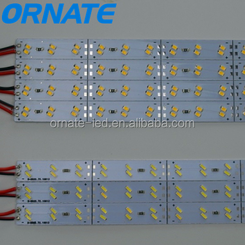 Customized Constant Voltage type SMD 2835 / 3020 / 4014 / 5050 / 5630 / 5730 LED Rigid Strips