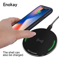 Best Price Round metal 10W Qi Charging Pad Fast Wireless charger