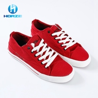 Wholesale Old Fashion Non Slip Ankle Length China Canvas Shoes / Casual Men Shoes