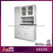 K810A classic door base white metal kitchen cabinets