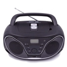 CD boombox with clock set MP3 USB BT RADIO
