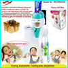 2015 latest innovative hanging toothbrush holder& auto toothpaste dispenser