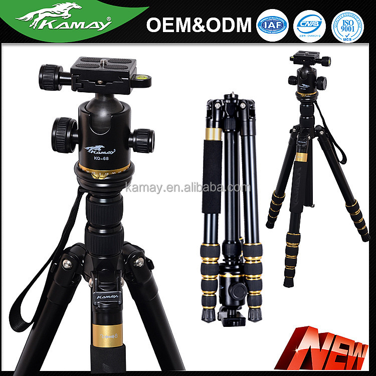 New travel professional video camera tripod traveler use lightweight type flexible tripod
