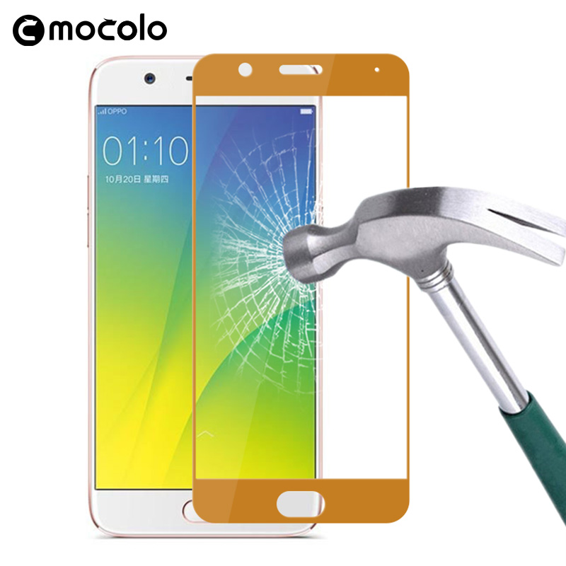 9h Tempered Glass For Oppo <strong>R11</strong> Mobile Phone Protective Film Anti-shock Accessory Anti-scratch Screen Protector