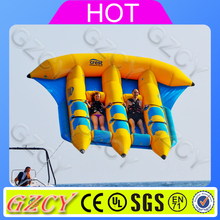 Crazy water toys towable inflatable fly fish used boats for water park games