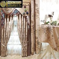 European style window curtain, embroidery decorating drapes and curtains