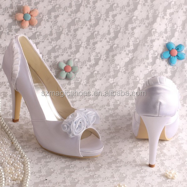 10 Colors Platform Wedding Shoes White For Women