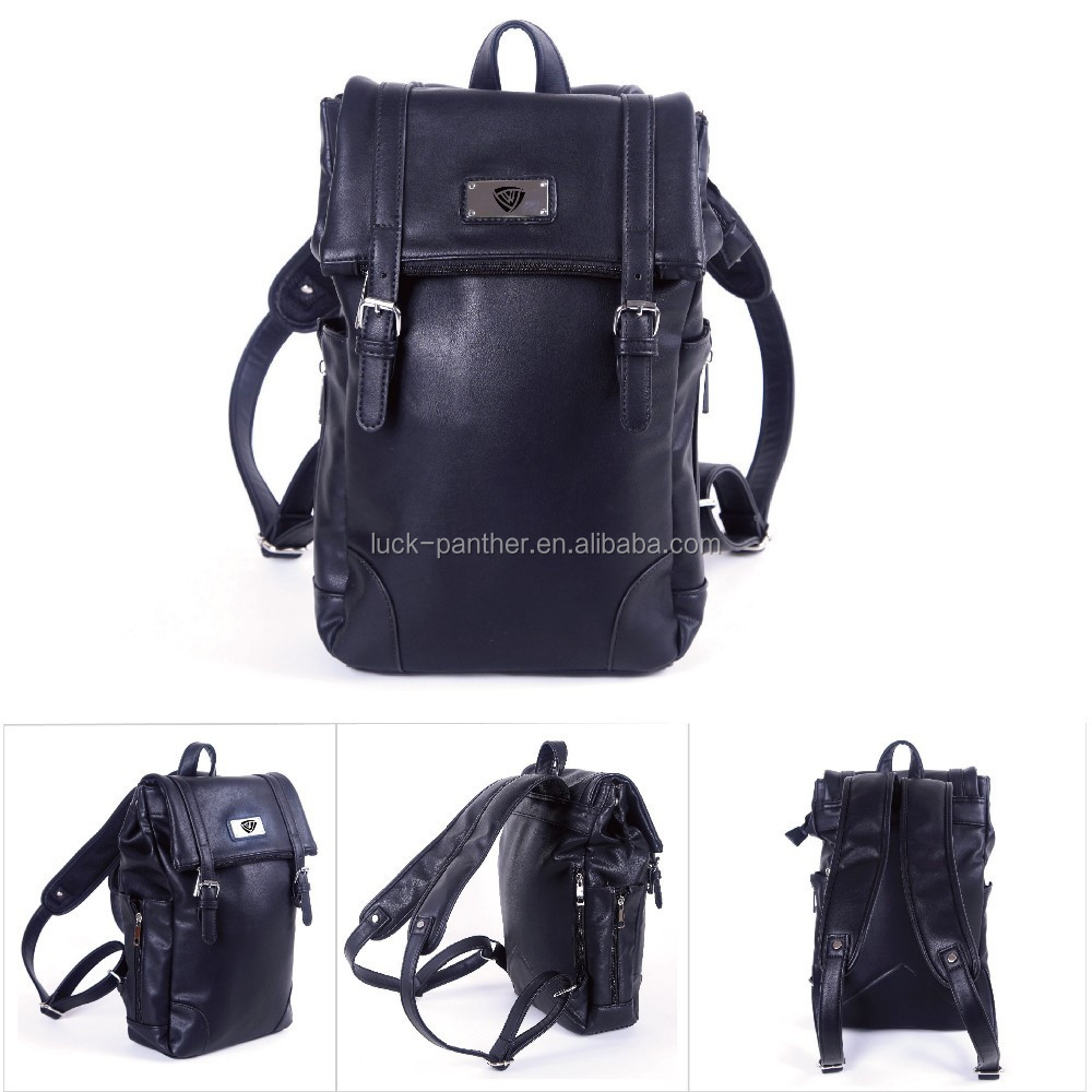 Girls Unique Leisure leather school backpack