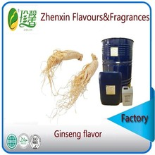 liquid and pure food grade ginseng flavour and fragrance, artificial ginseng essence flavor