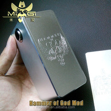Fastest delivery!!!Kepler 2015 Newest product nemesis mod/hammer of god box mod clone in stock!!!