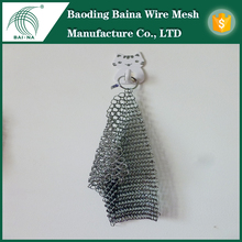 Whole sale SS316L chainmail scrubbers/dish scrubber (Factory manufacture)